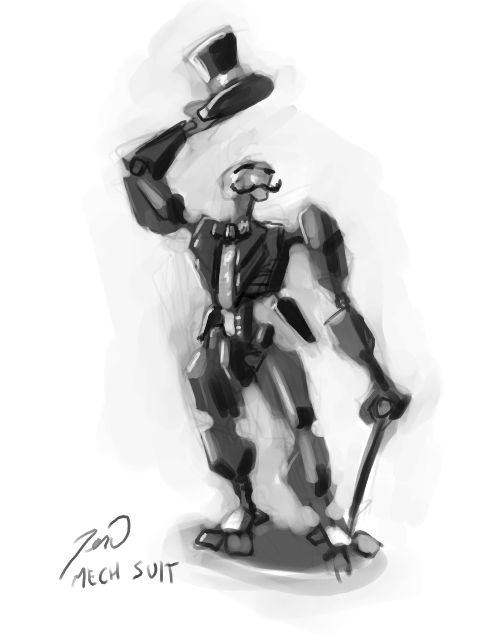 [ DSG|EU ] 044: Character Design: Mech suit
